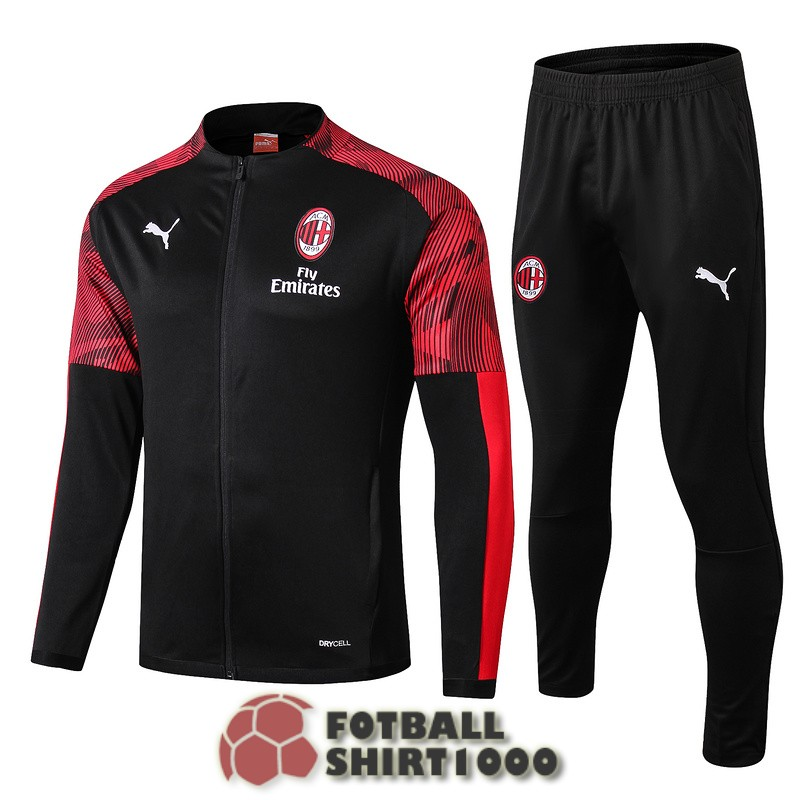 ac milan jacket 2019 2020 black