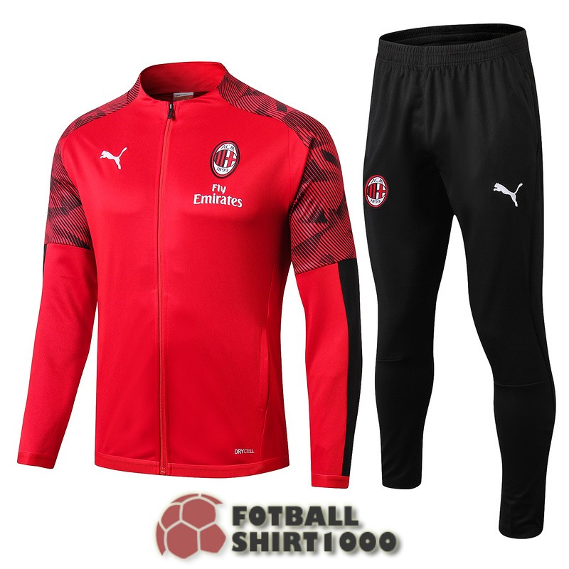 ac milan jacket 2019 2020 red