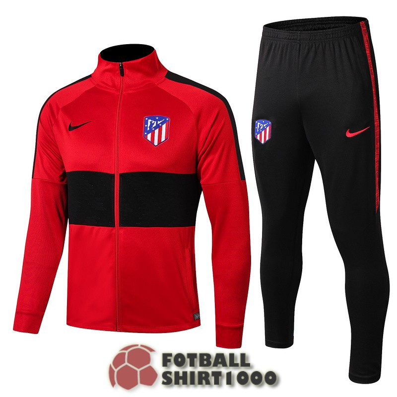 atletico madrid jacket 2019 2020 red black
