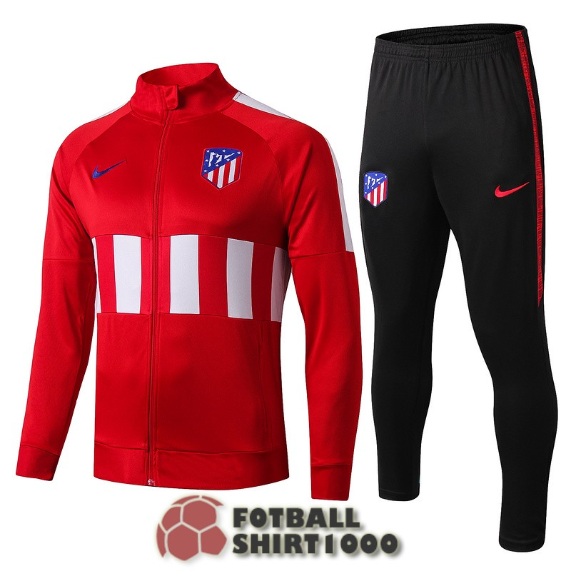 atletico madrid jacket 2019 2020 red white