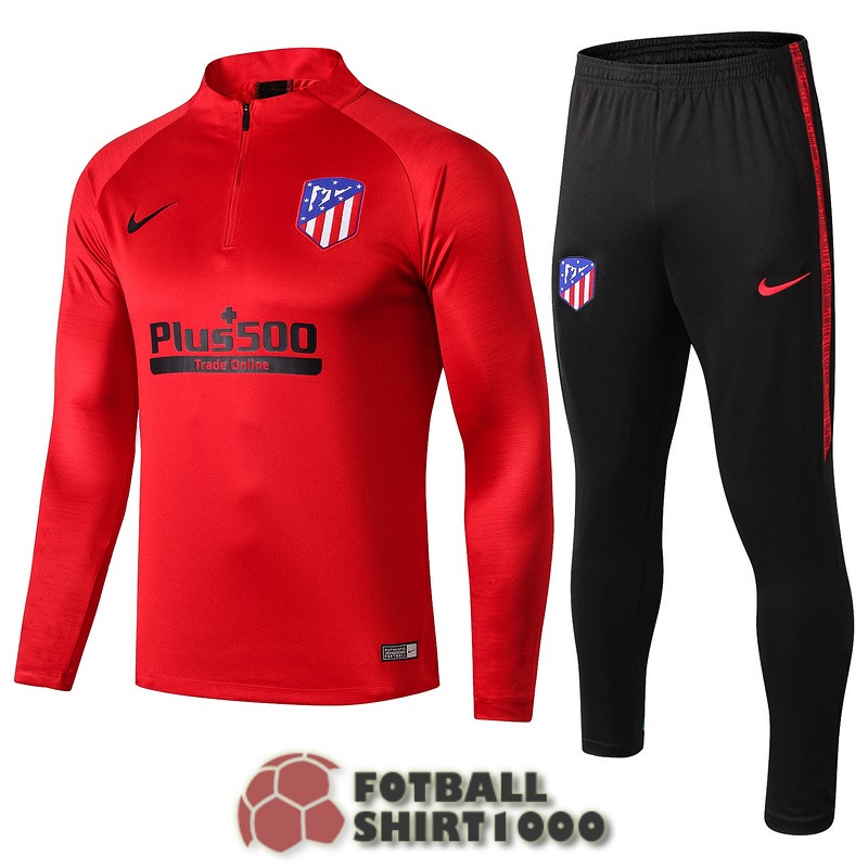 atletico madrid tracksuit 2019 2020 zipper red