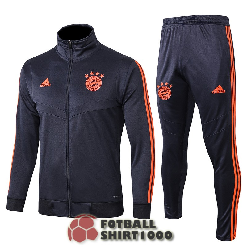 bayern munich jacket 2019 2020 blue orange