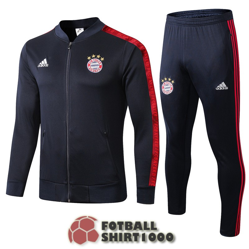 bayern munich jacket 2019 2020 dark blue