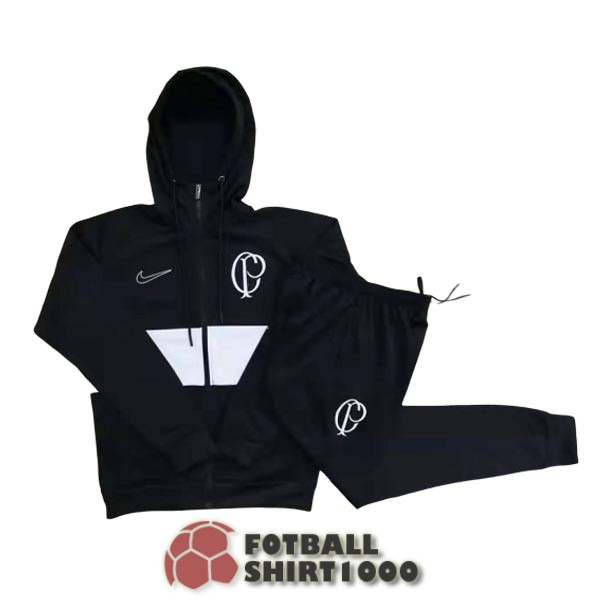 corinthians hooded jacket 2019 2020 black