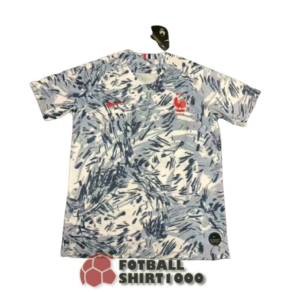 france shirt jersey special edition 2020 camouflage gray