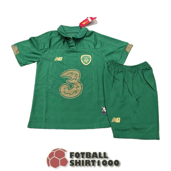 irlanda kid shirt jersey 2020 home