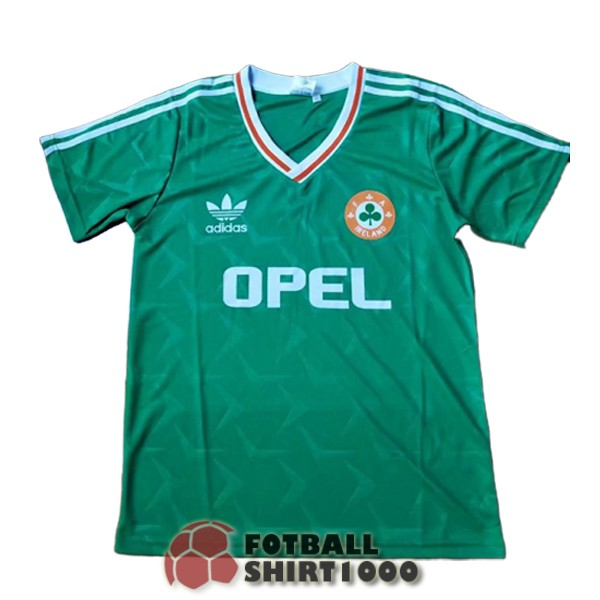 irlanda retro shirt jersey 1990 home