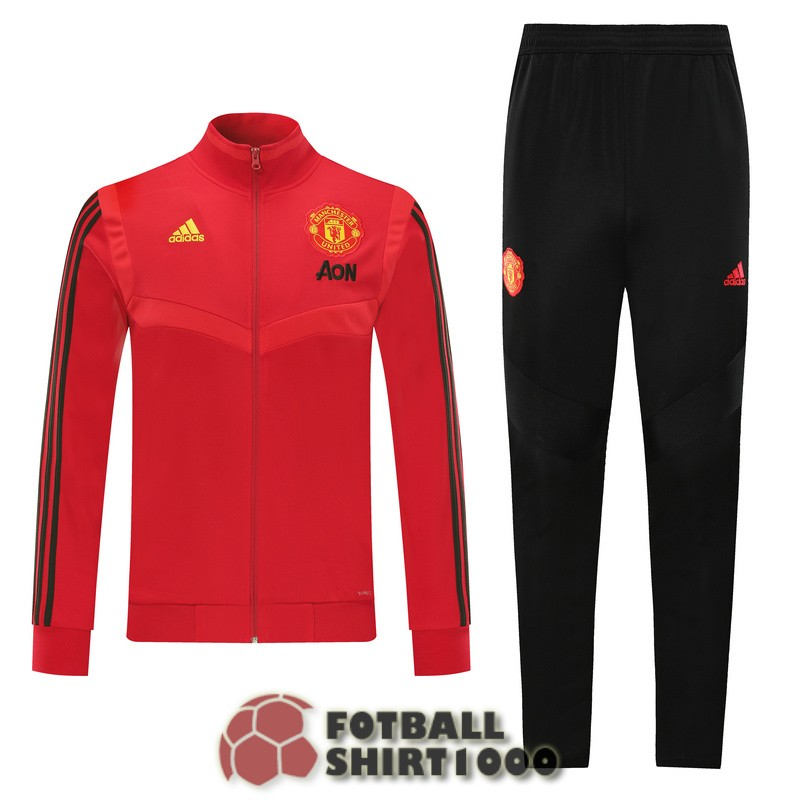 manchester united jacket 2019 2020 red B