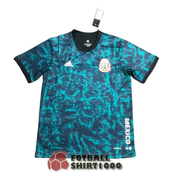 mexico training shirt jersey 2020 blue