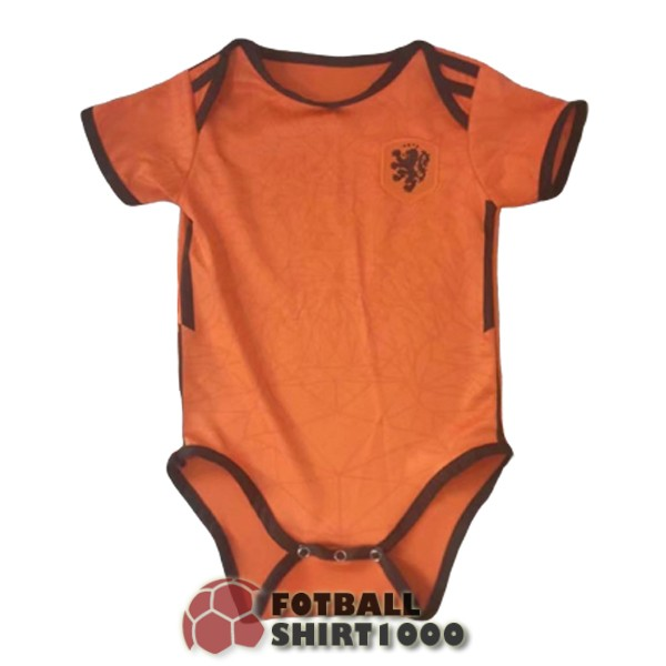 netherlands baby shirt jersey 2020 orange