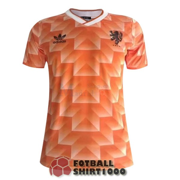 netherlands retro shirt jersey 1988 home