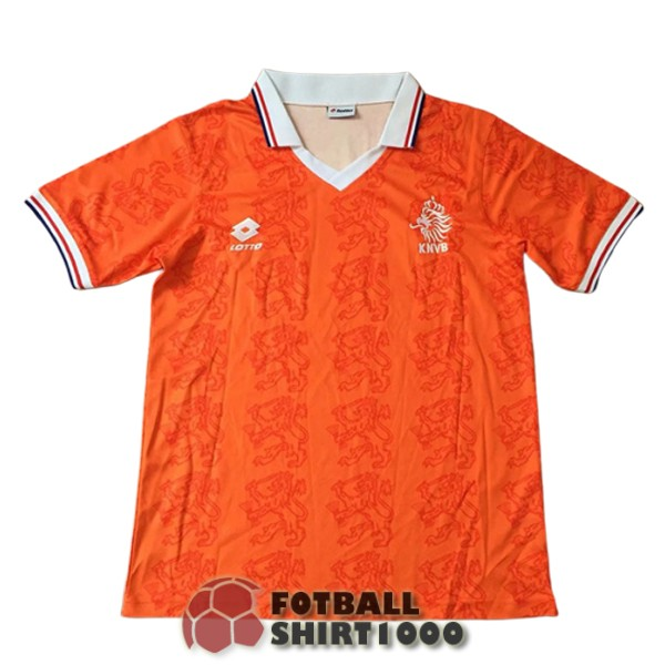 netherlands retro shirt jersey 1995 home