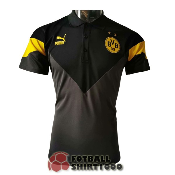 polo dortmund 2020 2021 black gray yellow
