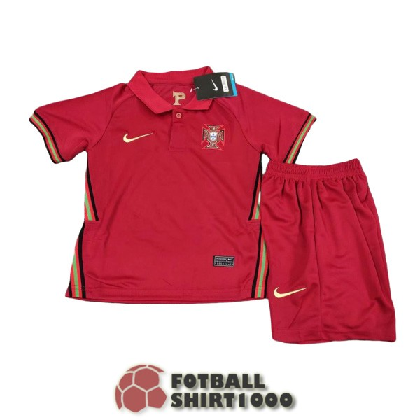 portugal kid shirt jersey 2020 home