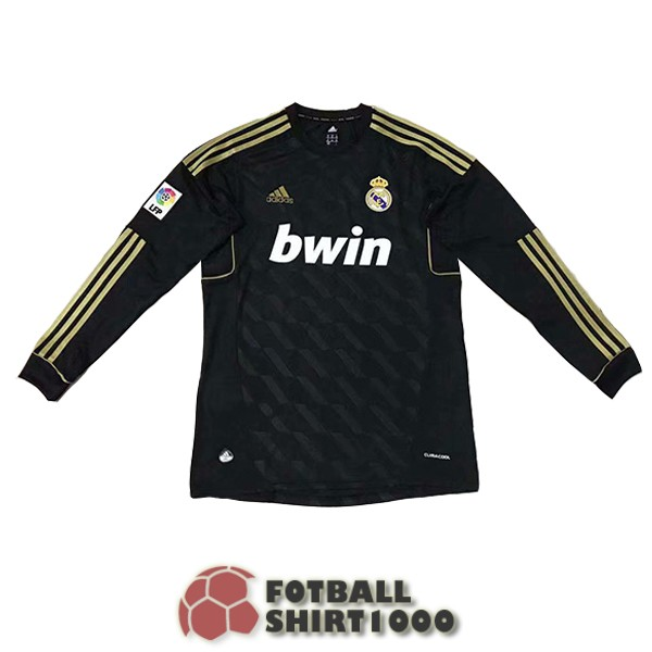 real madrid retro long sleeve shirt jersey 2012 home