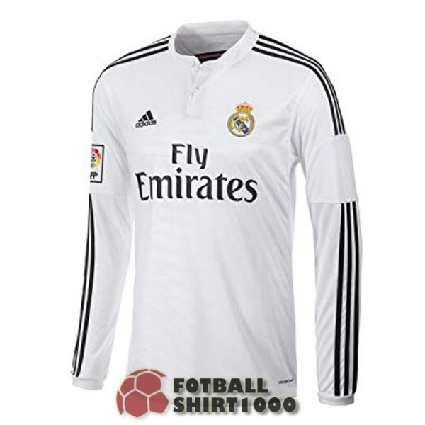 real madrid retro long sleeve shirt jersey 2014 home