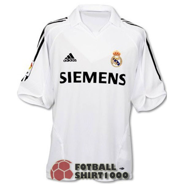 real madrid retro shirt jersey 2006 home