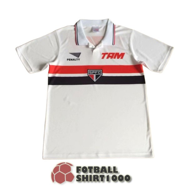 sao paulo retro shirt jersey 1994 1995 home
