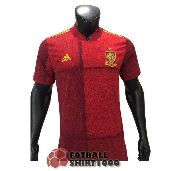 spain shirt jersey 2020 home player version