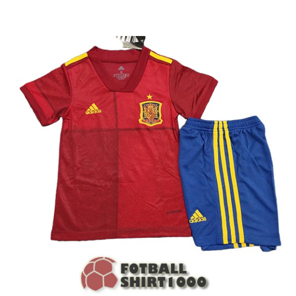 spain kid shirt jersey 2020 home