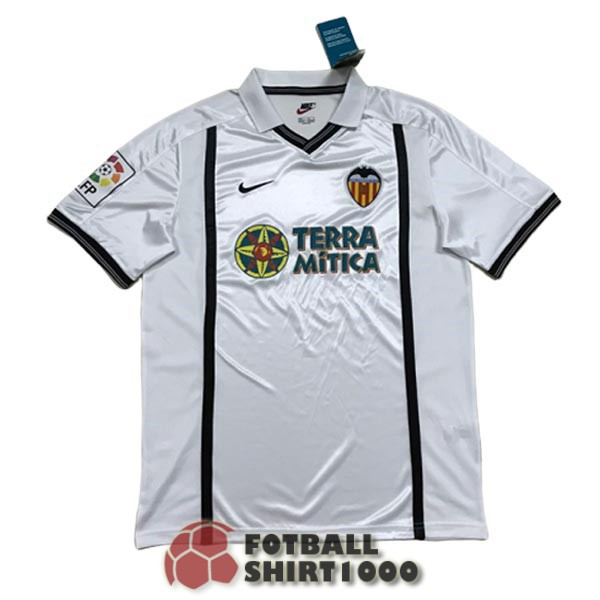 valencia retro shirt jersey 2000 2001 home