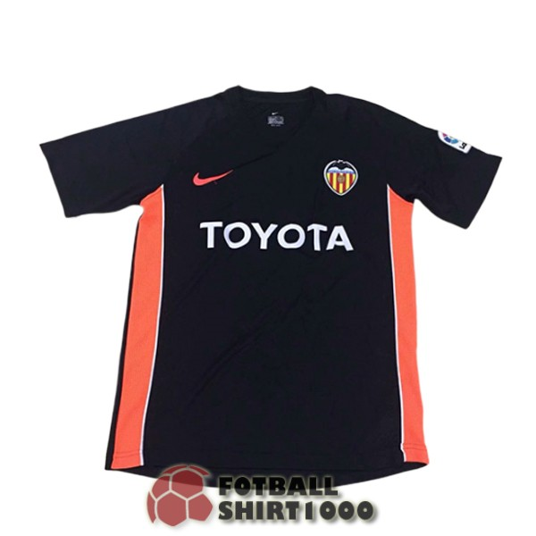 valencia retro shirt jersey 2006 away