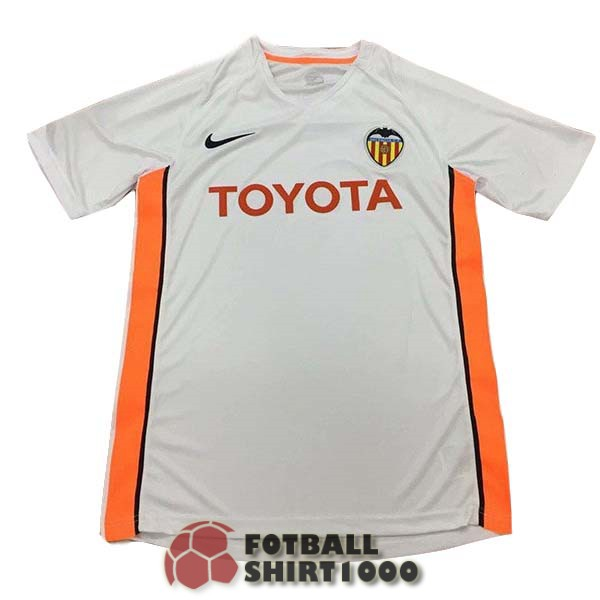 valencia retro shirt jersey 2006 home