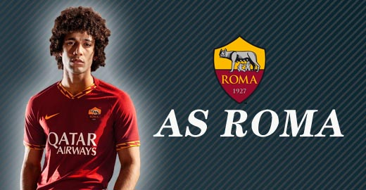 jerseys as roma