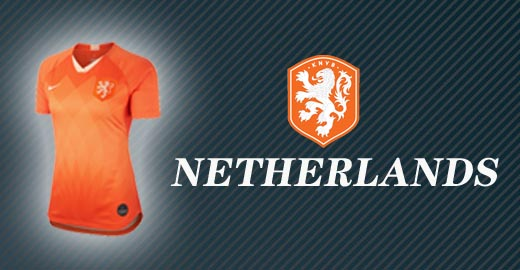 jerseys netherlands